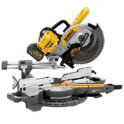 Dewalt DCS727T2-GB 54V XR FLEXVOLT 250mm Slide Compound Mitre Saw with 2 x 6Ah and Charger