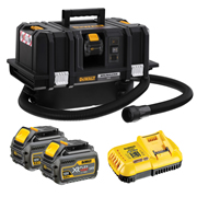 Dewalt DCV586MT2-GB Dewalt DCV586MT2-GB 54V XR FLEXVOLT M-Class Dust Extractor with 2 x 2Ah Batteries