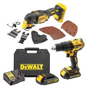 Dewalt DDMTCB Dewalt DDMTCB 18V XR 2 Piece Kit with x 1.5Ah Batteries, Charger and Case