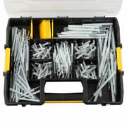 Dewalt DFMJOHAMFIX-GB 250 Piece Hammer Screw Kit