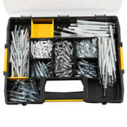Dewalt DFMJOMIX-GB 350 Piece Mixed Anchor Kit