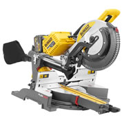 Dewalt DHS780T2 54v XR FLEXVOLT 305mm Slide Compound Mitre Saw with 2 x 2Ah Batteries and Charger