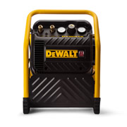 Dewalt DPC10QTC Dewalt 10 Litre Quiet Compressor with Roll Cage