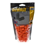 Dewalt DPG12BG50 Dewalt Foam Earplugs - Pack of 50 SNR 32dB