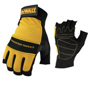 Dewalt DPG23L Dewalt Performance 4 Fingerless Gloves - Large