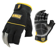 Dewalt DPG24L 3-Finger Framers Gloves - Large