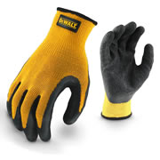 Dewalt DPG70L EU Dewalt Textured Rubber Coated Gloves - Large