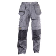 Dewalt DPTT Dewalt Pro Tradesman Trousers with Holster Pockets (Grey/Black)