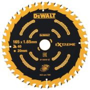 Dewalt DT10640-QZ Extreme Framing Blade 165mm x 20mm 40T For Cordless Machines
