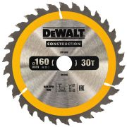 Dewalt DT1932-QZ Construction Circular Saw Blade 160mm x 20mm 30T