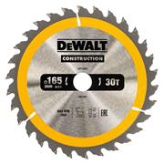 Dewalt DT1935QZ Dewalt Construction Saw Blade 165mm x 20mm 30T