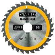 Dewalt DT1937QZ Dewalt Construction Saw Blade 165mm x 30mm 30T