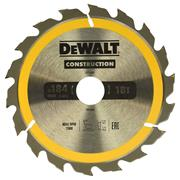 Dewalt DT1941QZ Dewalt Construction Saw Blade 184mm x 30mm 18T