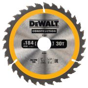 Dewalt DT1942-QZ Dewalt Construction Saw Blade 184mm x 30mm 30T