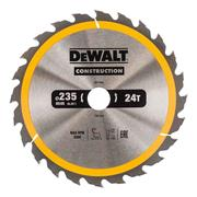 Dewalt DT1954QZ Dewalt Construction Saw Blade 235mm x 30mm 24T
