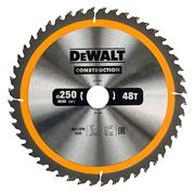 Dewalt DT1957-QZ Dewalt Construction Saw Blade 250mm x 30mm 48T