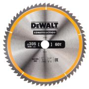 Dewalt DT1960-QZ Dewalt Construction Saw Blade 305mm x 30mm 60T