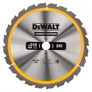 Dewalt DT1961QZ Dewalt Construction Saw Blade 315mm x 30mm 24T