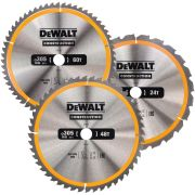 Dewalt DT1964-QZ Construction 305mm Circular Saw Blade Triplepack