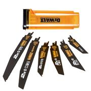 Dewalt DT2440LQZ 6pc Recip Blade Set