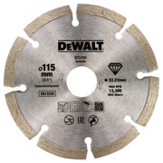 Dewalt DT3701-QZ Dewalt 115mm Segmented Diamond Blade