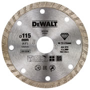 Dewalt DT3702-QZ Dewalt 115mm Turbo Dry Diamond Blade