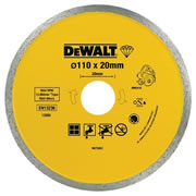Dewalt DT3715QZ Dewalt Porcelain Marble & Granite Cutting Blade For DWC410