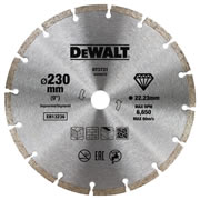 Dewalt DT3731-QZ Dewalt 230mm Segmented Diamond Blade
