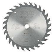 Dewalt DT4031QZ Dewalt Extreme Workshop Wood Saw Blade 184mm x 16mm 28T