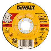 Dewalt DT42210Z-QZ Dewalt Metal Cutting Disc 115mm