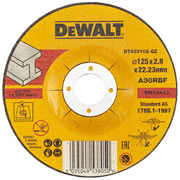 Dewalt DT42310Z-QZ Dewalt Metal Cutting Disc 125mm