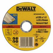 Dewalt DT42340Z-QZ Dewalt Fast Metal Stainless/Inox Cutting Disc 125mm