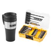 Dewalt DT70706QZ Dewalt 25 Piece Drill and Screwdriver Bit Set with Mug