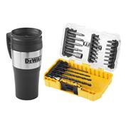 Dewalt DT70707QZ Dewalt 25 Piece Drill Driver Set with Mug