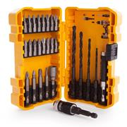Dewalt DT71700QZ Dewalt 27 Piece Compact Rapid Load Drill and Screwdriver Bit Set