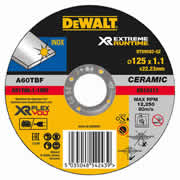 Dewalt DT99582-QZ Dewalt Xtreme Runtime 125mm x 1.5mm Metal Cutting Disc