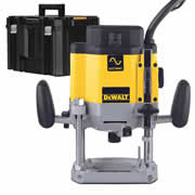 Dewalt DW625EKT Dewalt DW625EKT 1/2'' Shank Variable Speed Router