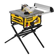 Dewalt DWE7492 Dewalt DWE7492 250mm Portable Table Saw c/w Scissor Leg Stand