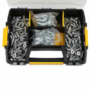 Dewalt DWSLZIPIT-GB 200 Piece ZIP-IT Plasterboard Anchor Kit