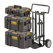 Dewalt DWST83442-1 Dewalt DWST83442-1 4-in-1 Toughsystem 2.0 Stackable Tool Box Carry Case Bundle