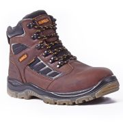 Dewalt HUDSON Dewalt Hudson Safety Boots (Brown)