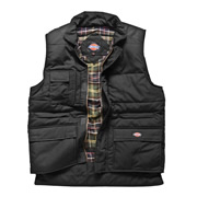 Dickies BW11025 Dickies Combat Body Warmer (Black)
