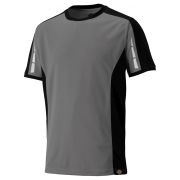 Dickies DP1002GYBK Dickies Pro T-Shirt - Grey/Black