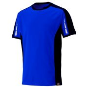 Dickies DP1002BK Dickies Pro T-Shirt - Royal Blue/Black