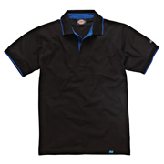 Dickies DT2000BLA Dickies Anvil Polo Shirt (Black)