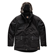 Dickies JW7008BLA Dickies Parka Jacket (Black)