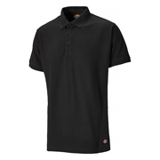 Dickies SH2004BK Two Tone Polo Shirt Black