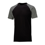 Dickies SH2007BKG Two Tone T-Shirt Black/Grey
