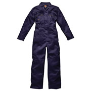Dickies WD4839NV Dickies Redhawk Zip Front Coveralls - Navy