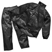 Dickies WP10050 Vermont Two Piece Rain Suit - Black